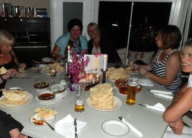 The Benett's Crackin' Curry Night