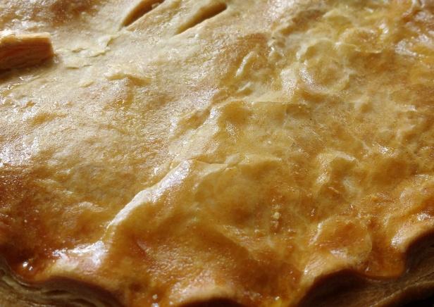 Chicken ham pie crust
